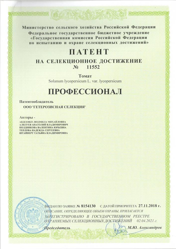 Томат ПРОФЕССИОНАЛ F1